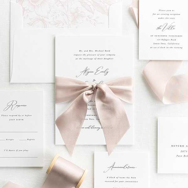 Complete Wedding Invitation Kits: Garden Romance Wedding Programs In 2020