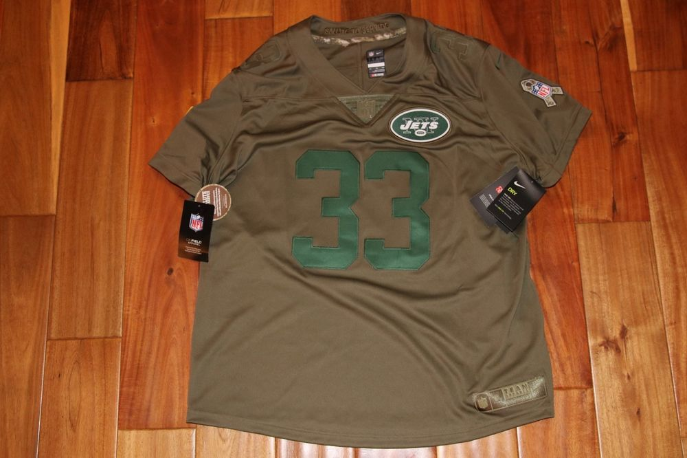 4c86c2fbc NWT NFL JETS Adams Football Jersey Women s Salute Service Stitched Size XXL   95  US  67.00 End Date  Sunday Oct-14-2018 5 35 48 BST Buy It…