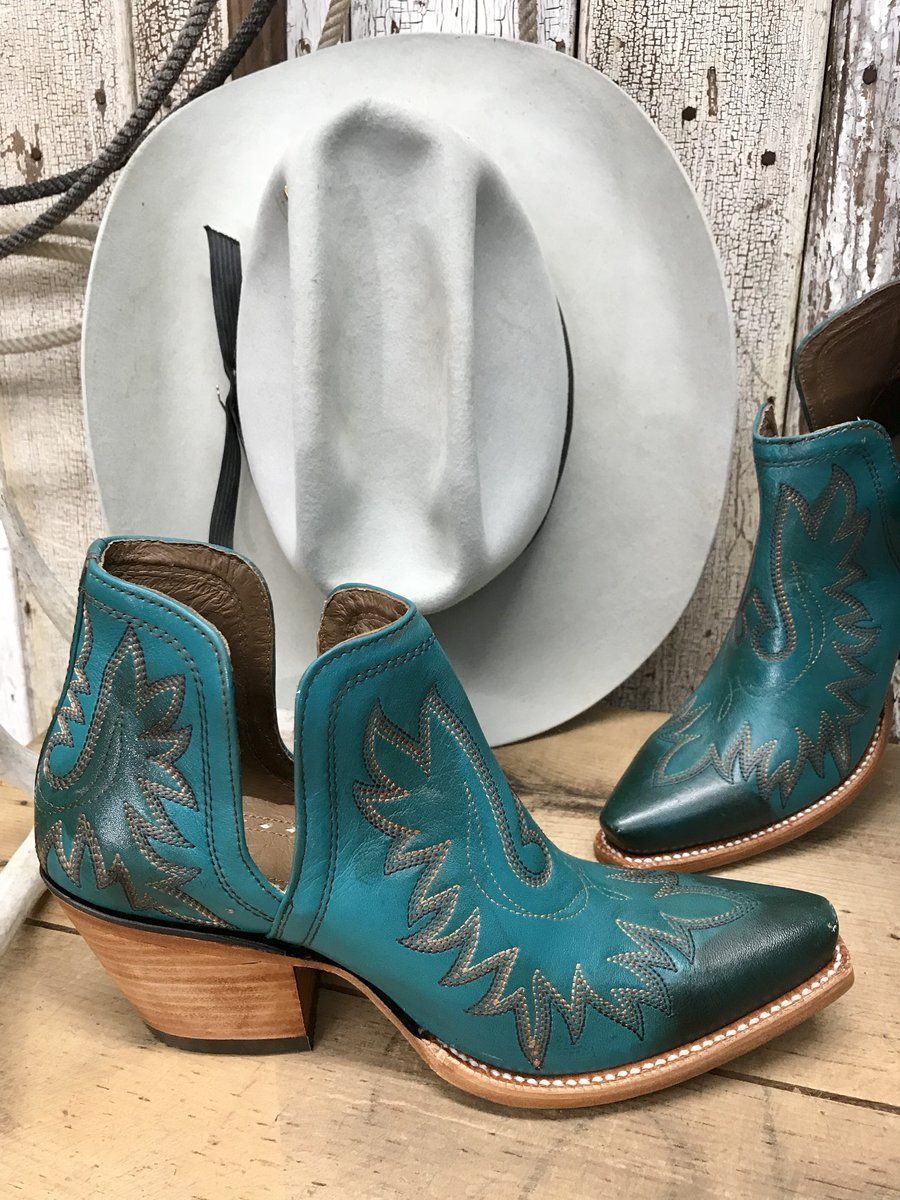 sports shoes super quality best quality Turquoise Ariat Dixon Bootie in 2019 | Boots, Cowgirl boots ...