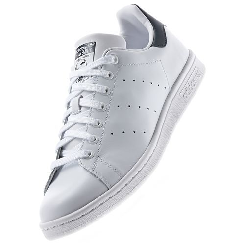 Attuale ossessione: basso in cuoio bianco sopra le scarpe adidas immaginato: