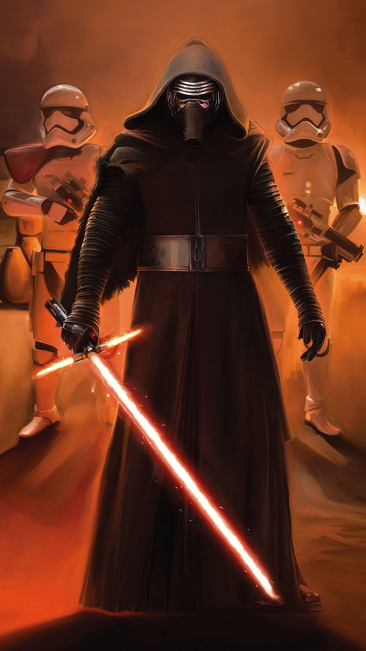 50 Phone Wallpapers All 1440x2560 No Watermarks Star Wars Kylo Ren Star Wars Episodes Star Wars Vii