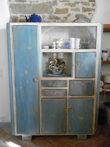 credenza anni 50/60 | For the Home | Pinterest | Shabby, Buffet and Cozy