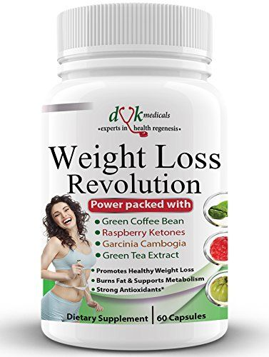 Weight Loss RevolutionGreen Coffee Bean Raspberry Ketones Garcinia CambogiaGreen Tea Thermogenic Fat Burner Appetite suppressant Lose belly fat Natural Weight Loss Supplement for women men * Click image to review more details.