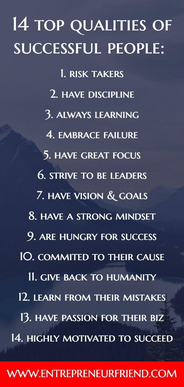 15 Top Characteristics: of a Successful Entrepreneur