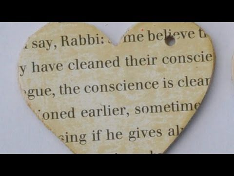 Make a Lovely Distressed Heart Charm - DIY Crafts - Guidecentral - YouTube
