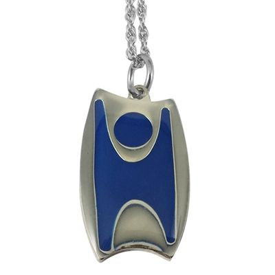 Happy Humanist Pendant Happy Humanist Necklace Humanist Necklace