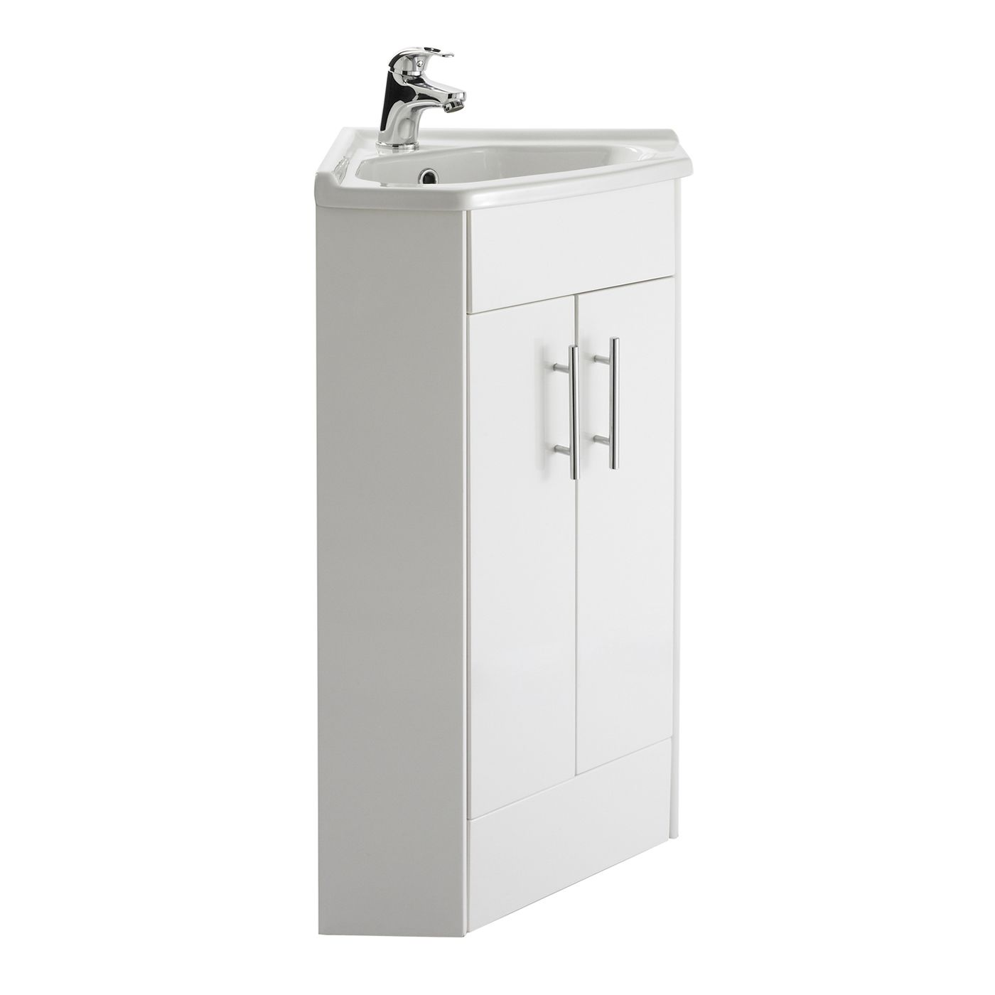 Meuble Lavabo D Angle Lave Mains Corner Vanity Bathroom - Meuble Sous Lave Main Angle