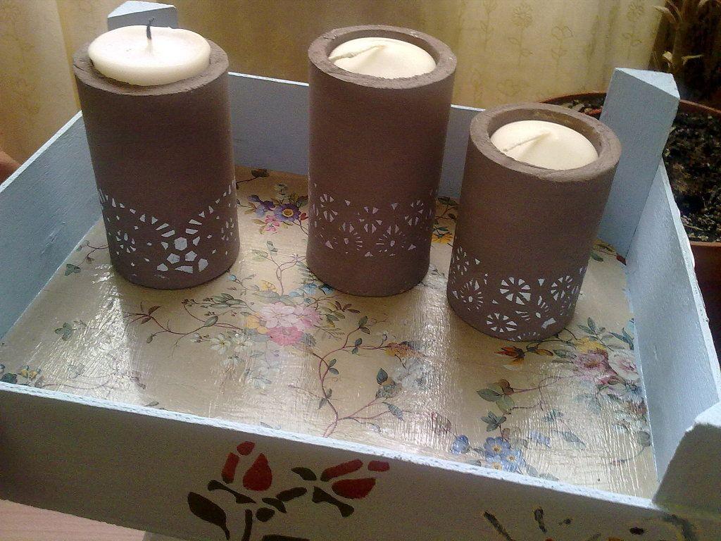 Reciclar tubos de carton grueso buscar con google for Reciclaje manualidades decoracion