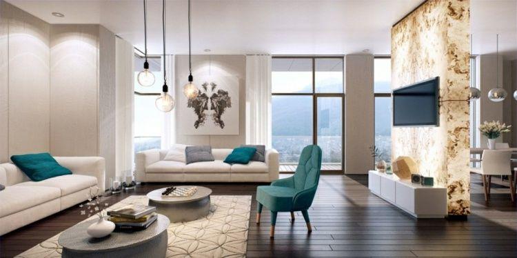 Aménagement salon pour une atmosphère accueillante   Living rooms ...