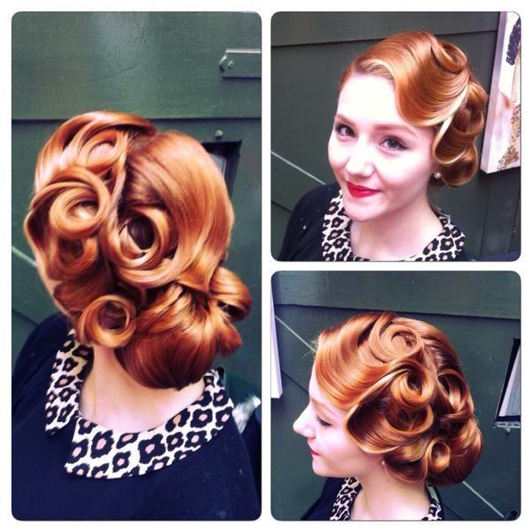 Pinup Wedding Hair Retro Wedding Hair Vintage Wedding Hair Vintage Hairstyles