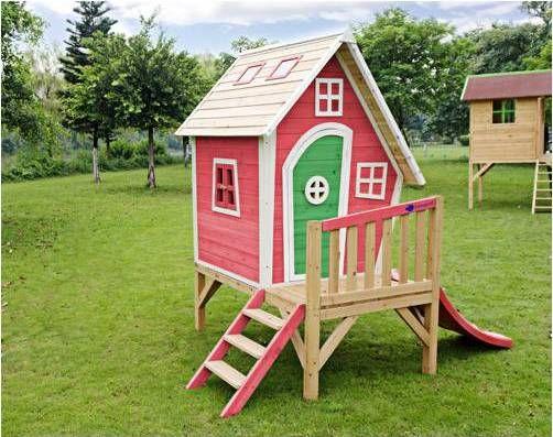 Casita de juegos para el jard n de imaginarium casitas for Casita madera jardin