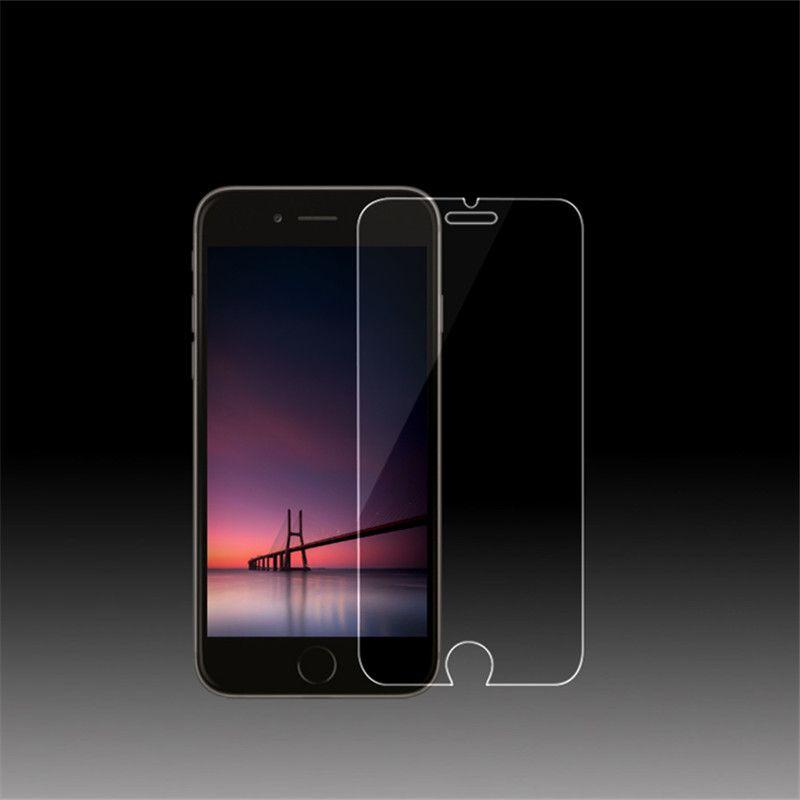 9 h 0.3mm 2.5d vidrio templado de cine para iphone 5 5s se pantalla dura protector para iphone 6 6 s 6 plus 7 7 plus 4 4S con limpia herramienta