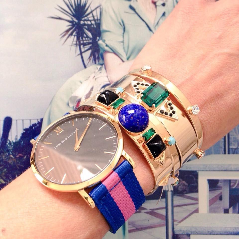 Bracelets LUMA #armparty #Lumajewels  #bijoux #jewelry #bracelets #fashion #Larsson&Jennings