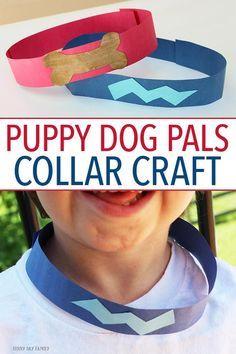 Puppy Dog Pals Inspired Collar Craft Disney Diy Dogs Puppies