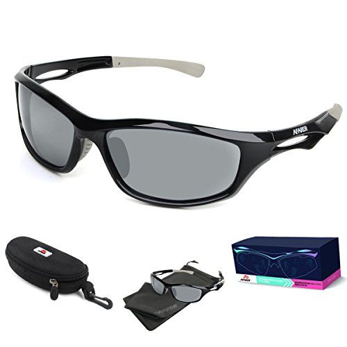 d033d224667 AFARER Polarized Sport Sunglasses for men women Outdoor Driving Fishing  Cycling Running Golf with TR90 Unbreakable