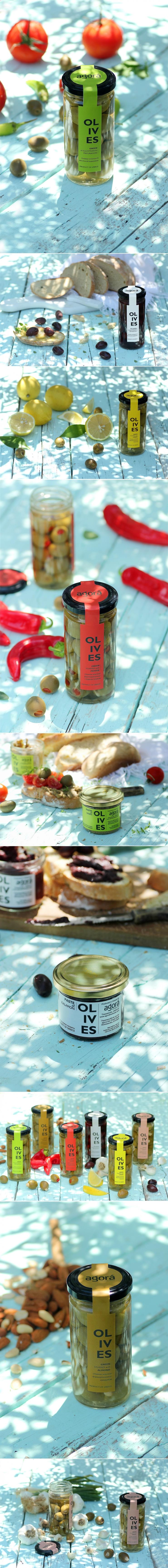 Agora Greek Olives & Pastes — The Dieline   Packaging & Branding Design & Innovation News