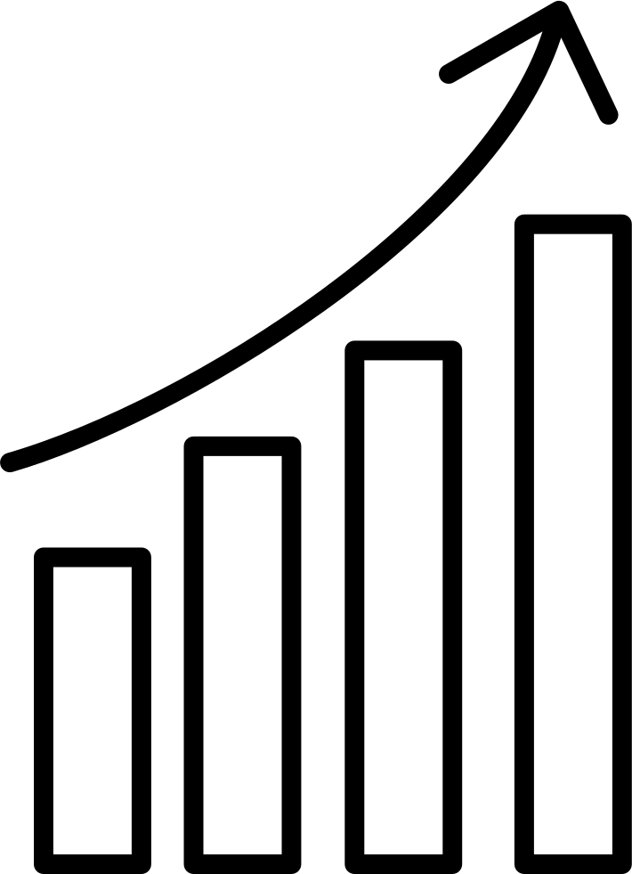 Data Analytics Upgoing Bars Chart Comments Analytics Line Icon Png Clipart 710x981 Png Download Line Icon Data Analytics Clip Art