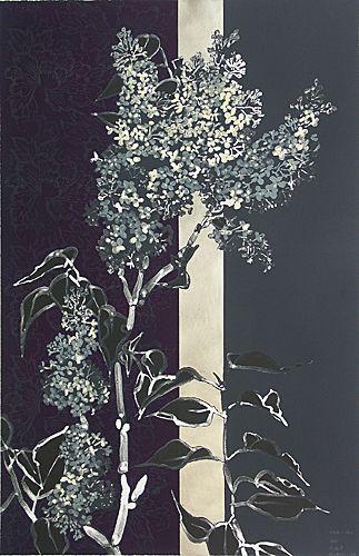 """Robert Kushner : """"White Lilac"""": 2007. Imagen tomada de Shark's Ink"""