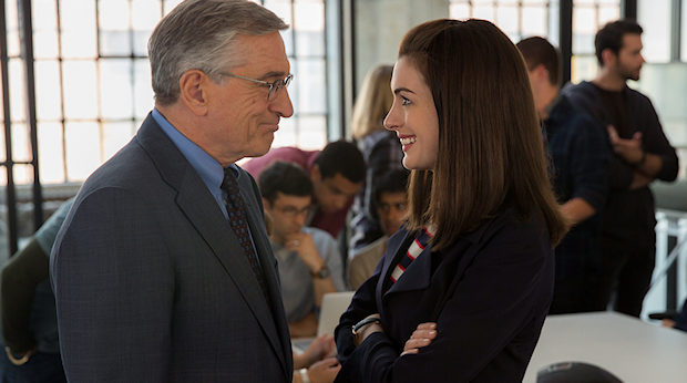 First Trailer For THE INTERN Starring Robert De Niro and