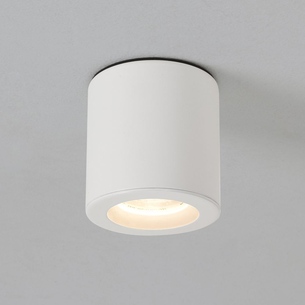 Bathroom Lights Gu10 astro kos surface mounted downlight ip65 in white | kos, bathroom