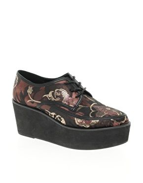 Brocade Flatforms   Shoes  3   Pinterest 2654ab0969b