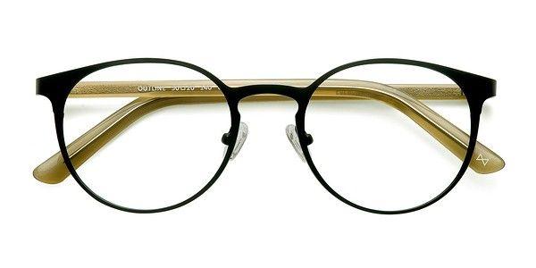Black Steel Acetate Outline - Rflkt Eyeglasses   Specs   Pinterest ... df0dc2b9d060