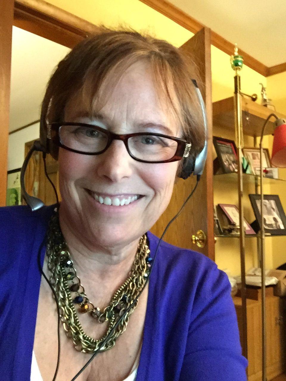 Libby Hellmann, Host of Second Sunday Crime!