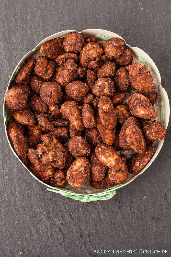 Schoko-Karamell-Nüsse   Rezept   Pinterest   Weihnachtsgeschenke aus ...