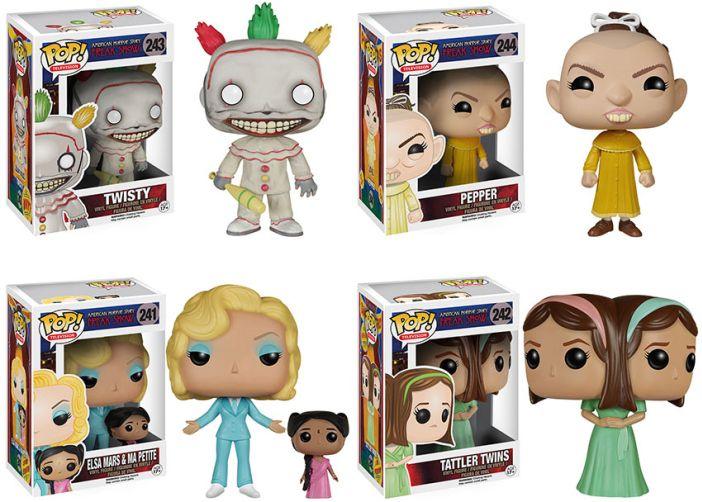 American Horror Story Freak Show Toys Coming Soon Funko