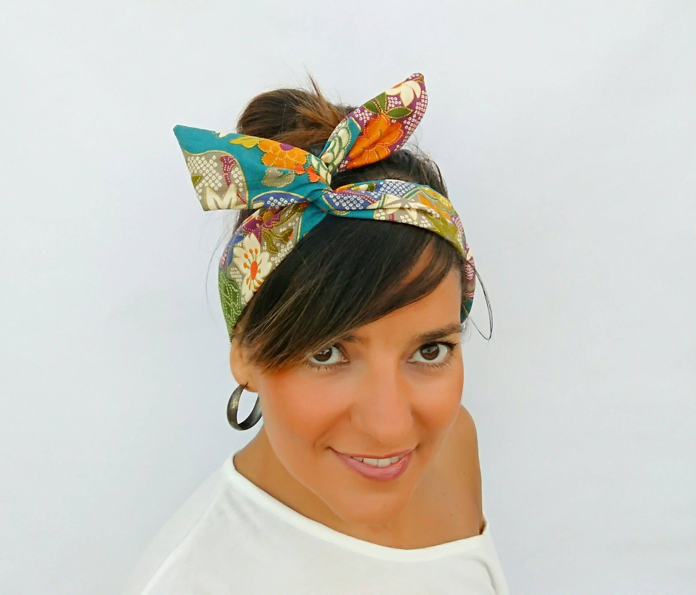 Dolly Bow hair Wrap 36175c0d920