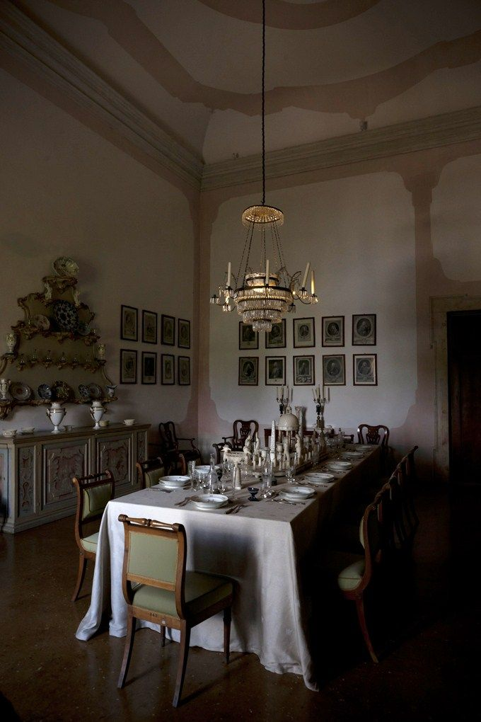 Villa Pisani Stra Italy Country House InteriorCountry