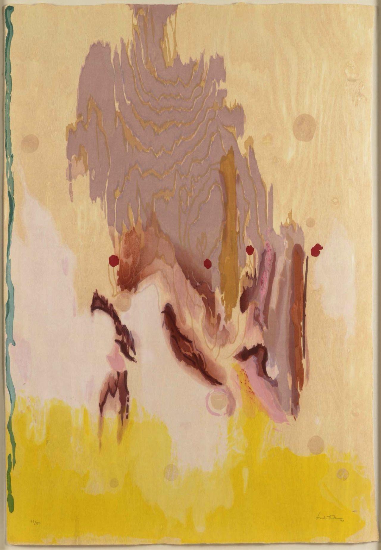 """WOWGREAT - gibsondeis:   Helen Frankenthaler: """"Geisha,"""" 2003;..."""