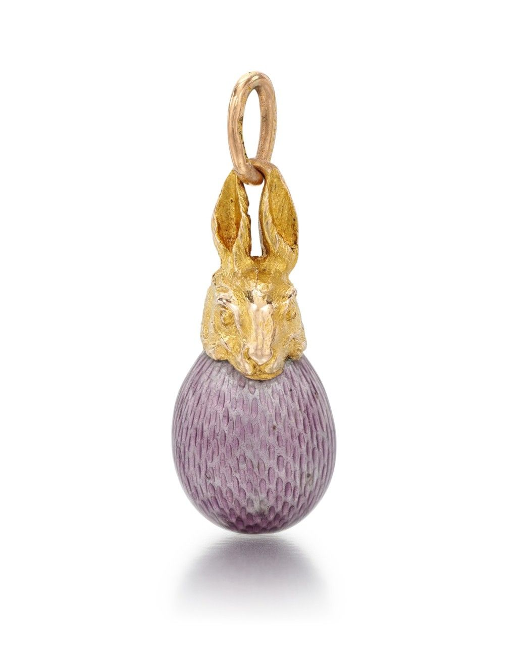 Russian Handmade Egg Pendant  Decorative Enamel Pendant