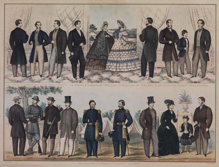 Image Result For Late 1850s Men S Clothing Little Women