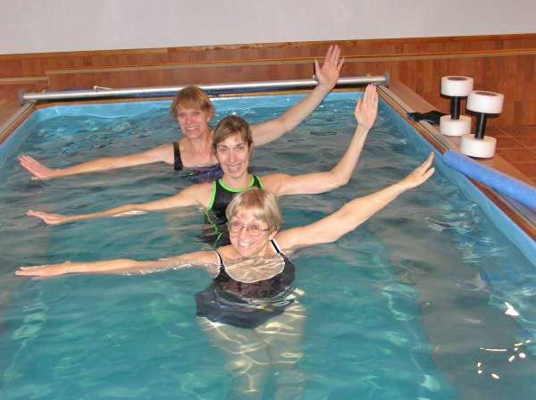 The Endless Pool Not Just For Swimming At Home It S Great For Aquatic Exercise Too Pool Workout Exercise Pool Endless Pool