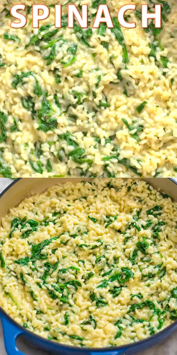 Spinach Risotto #vegetariandish