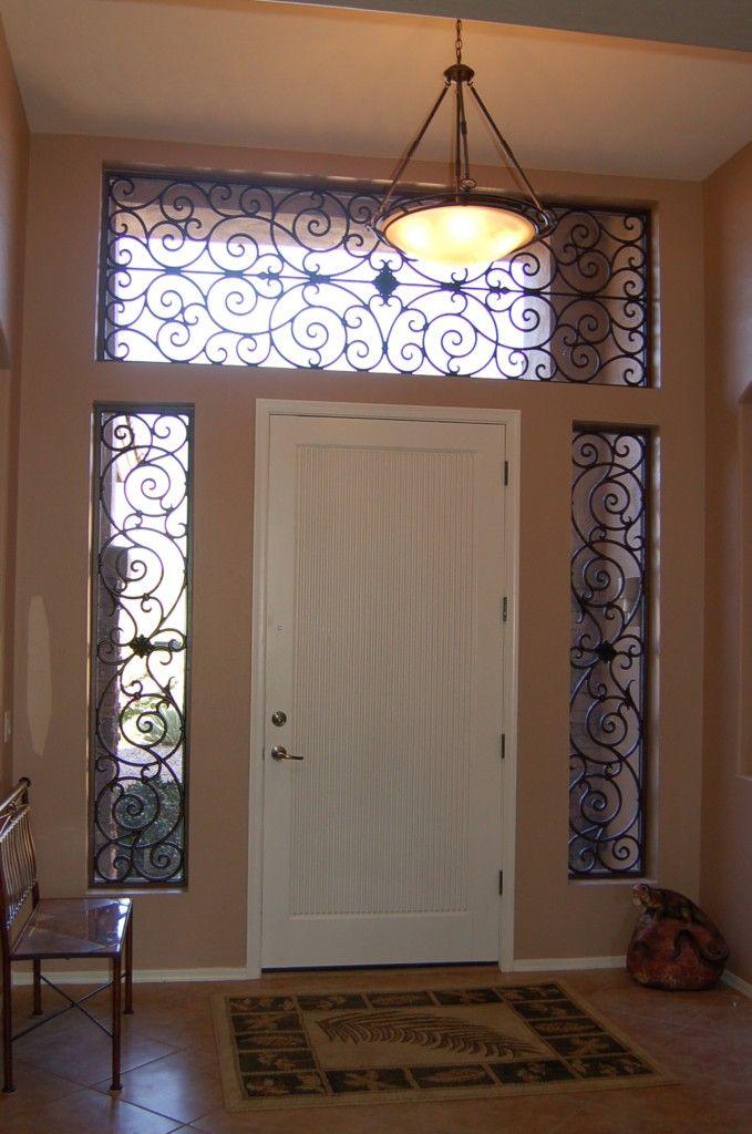 Front Door Window Curtains Beautiful Color Combinations : Interior Entry  Door Curtain Rods Front Door Window