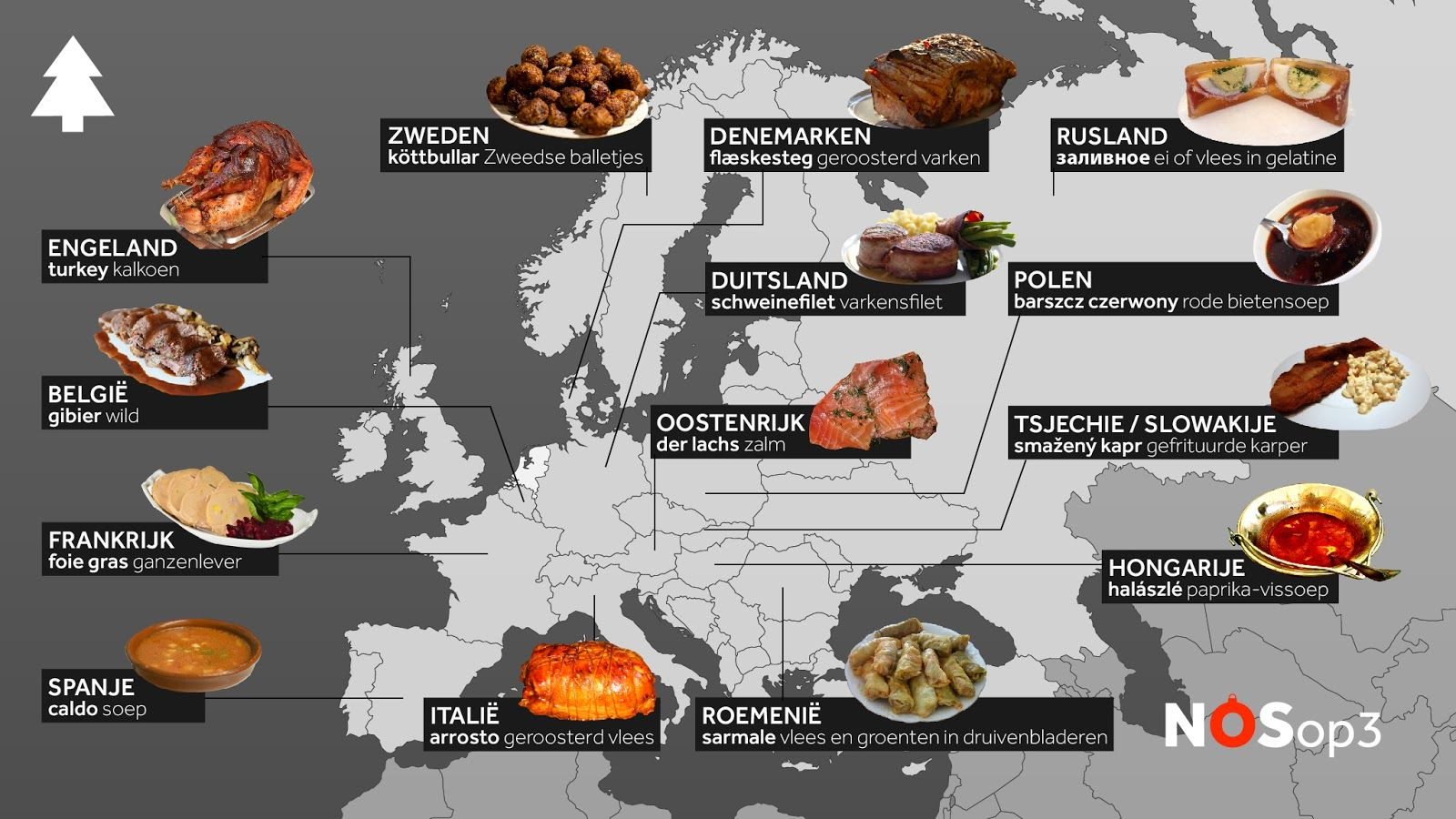 What Europeans Eat For Christmas Dinner Christmas Dinner Eat Dinner