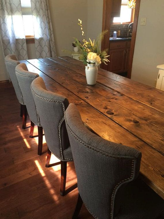 Delightful Farmhouse Table Farm Table Long Farmhouse By TheFarmhouseFinds