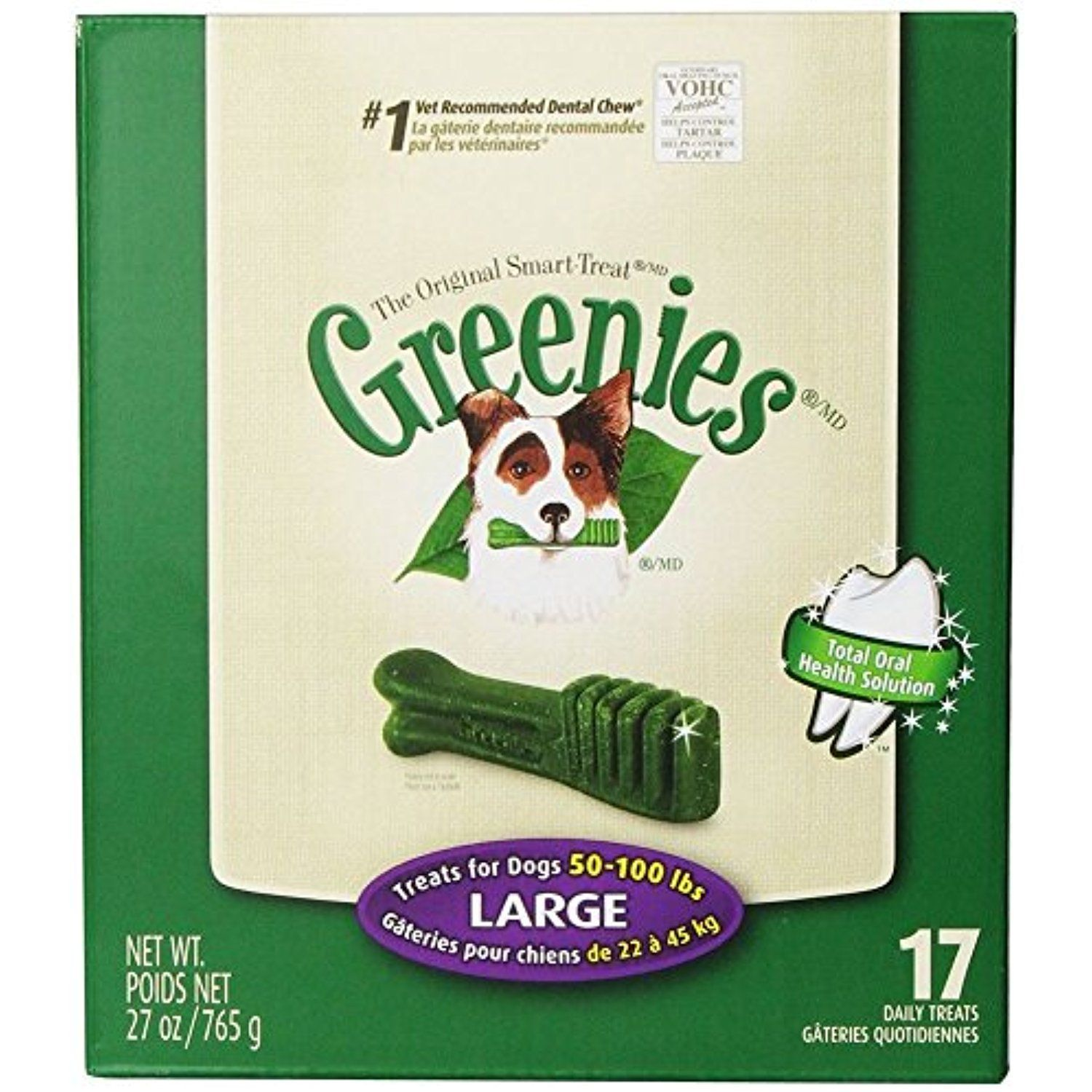 Greenies Dental Treat For Dogs Large You Can Read More Reviews Of The Product By Visiting The Link On The Imag Dog Dental Chews Dog Dental Treats Dog Dental