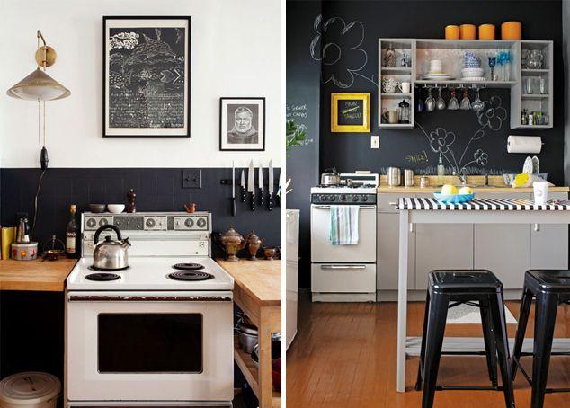 Azulejos Pintados Con Pintura De Pizarra Cocinas En 2018 - Azulejos-de-cocina-pintados