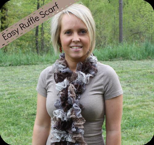 DIY: Ruffle Scarf with Sashay Yarn | Crochet | Pinterest