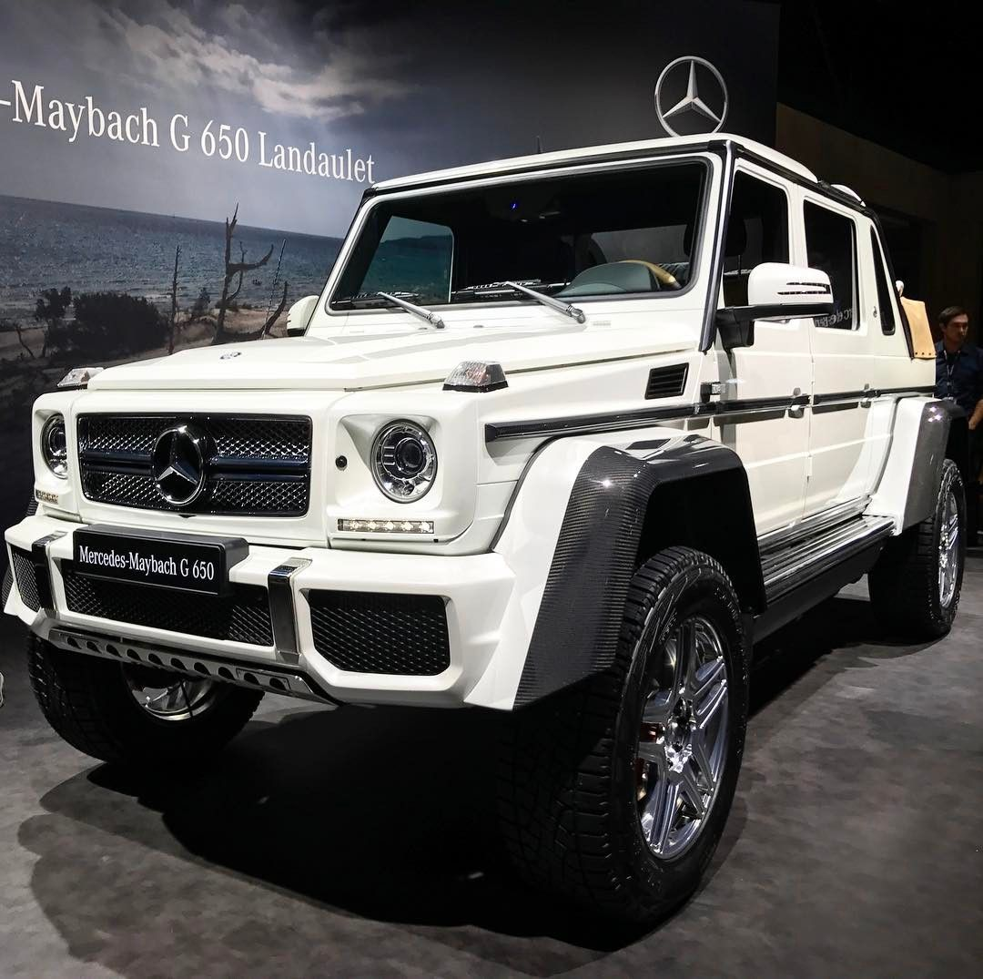 Mercedes maybach g 650 landaulet mercedes maybach for Mercedes benz 650