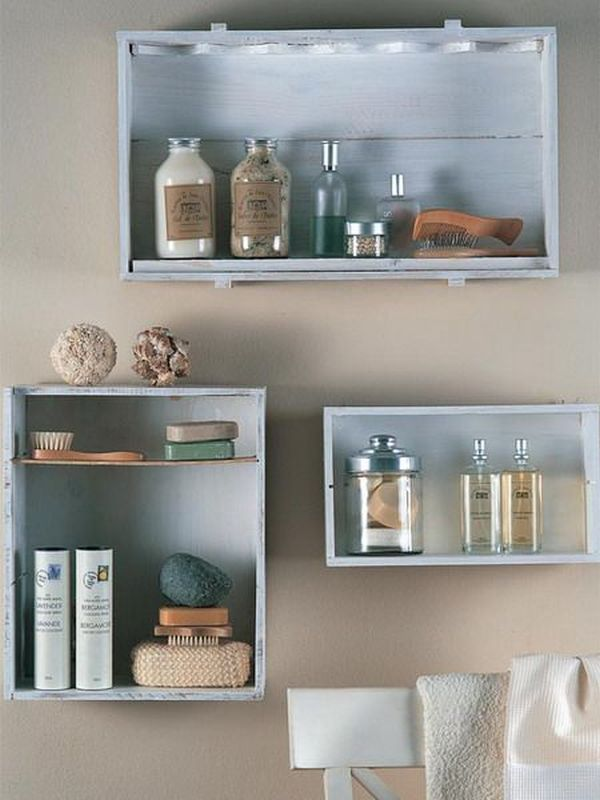 Wall Mounted Box Shelves A Trendy Variation On Open Shelves Diy Bathroom Storage Wall Shelves Design Diy Shelves