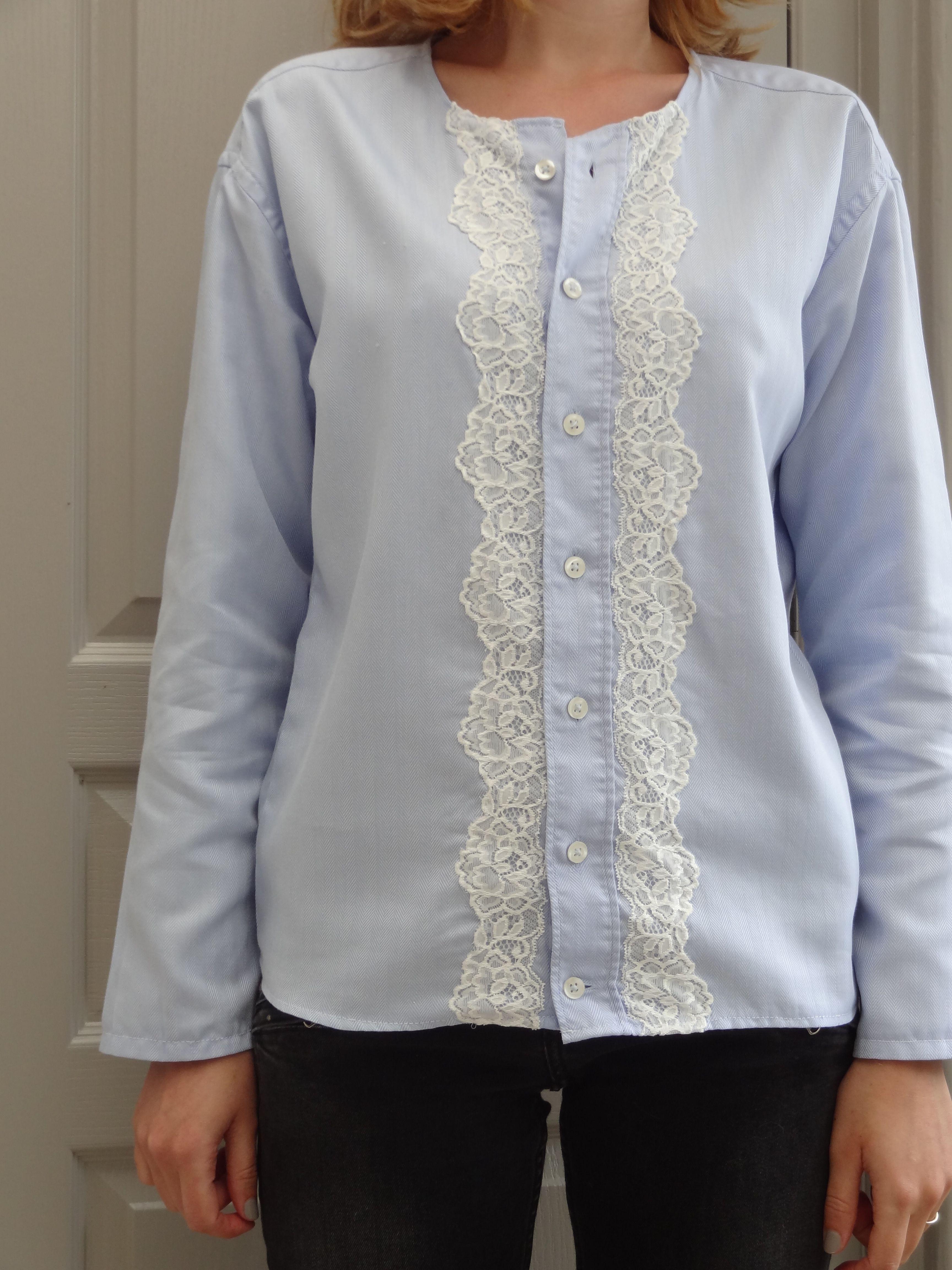customisation chemise d 39 homme en v tements pour femme. Black Bedroom Furniture Sets. Home Design Ideas