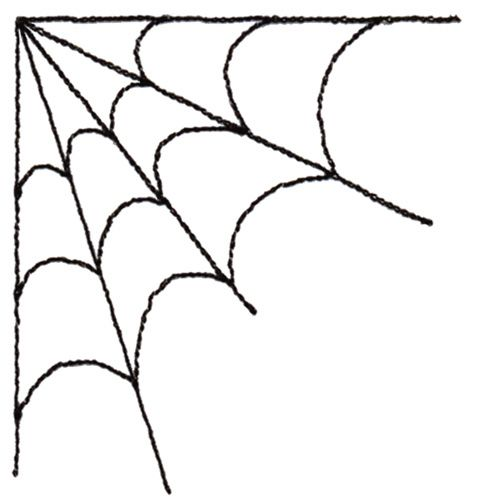 Spider Web Corner Clipart Holiday Halloween Pinterest