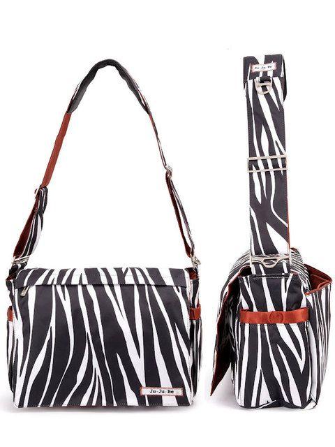 Ju-Ju-Be Be All in Safari Stripes