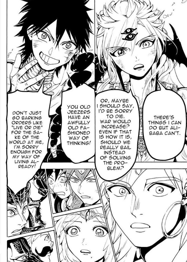 Magi 367 raw anime magi manga magi magi