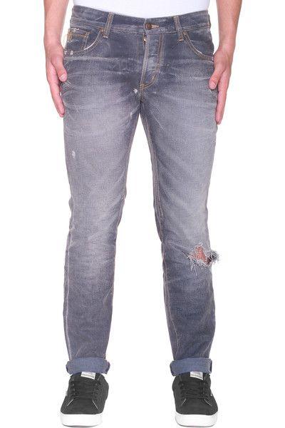 Luxyuu: jeans effetto consumato