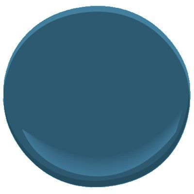 Benjamin Moore Blue Danube 2062 30 A Navy With A Slight